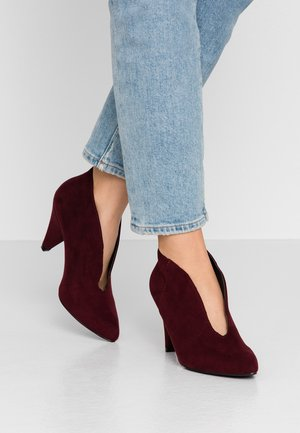 ADMIRE UPDATE - Ankle boots - burgundy