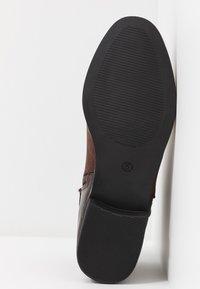 Dorothy Perkins - MINA TIPPED JODPHUR - Boots à talons - choc - 6