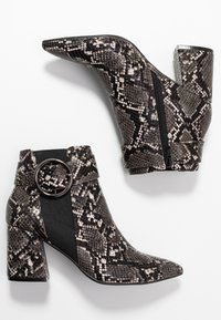 Dorothy Perkins - ALESSIA POINTED BUCKLE - Ankle boots - brown - 3