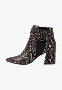 Dorothy Perkins - ALESSIA POINTED BUCKLE - Ankle boots - brown - 1