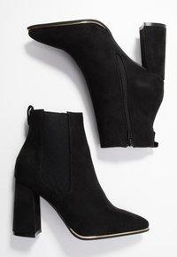 Dorothy Perkins - AMERIE PARTY BOOT - Kotníková obuv na vysokém podpatku - black - 3
