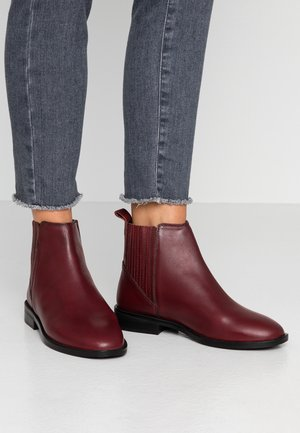 OSLO CHELSEA BOOT - Boots à talons - oxblood