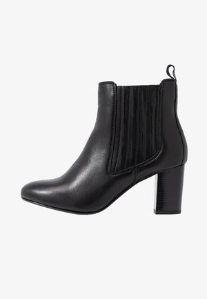 HEELED CHELSEA  - Ankle boots - black