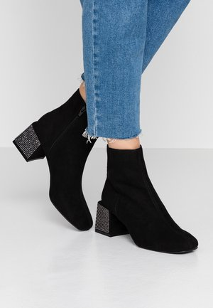 AALIYAH SQUARE HEEL BOOT - Ankle boots - black