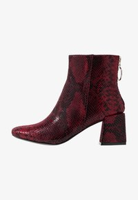 Dorothy Perkins - LOLA SKYE LONDON MINIMAL BOOT - Classic ankle boots - red - 1