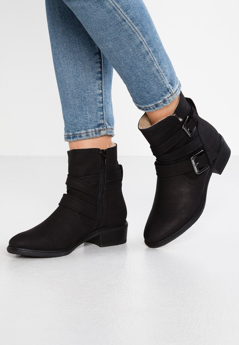 Dorothy Perkins - MONEY - Classic ankle boots - black
