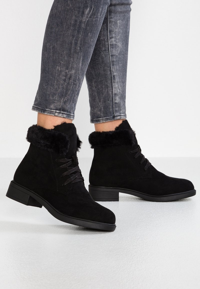 Dorothy Perkins - MILLIE - Lace-up ankle boots - black