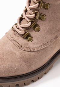 Dorothy Perkins - MILLIE COLLAR LACE UP HIKER - Schnürstiefelette - taupe - 2