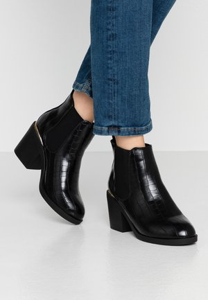 ANSTY BORG LINED CHELSEA - Ankle Boot - black