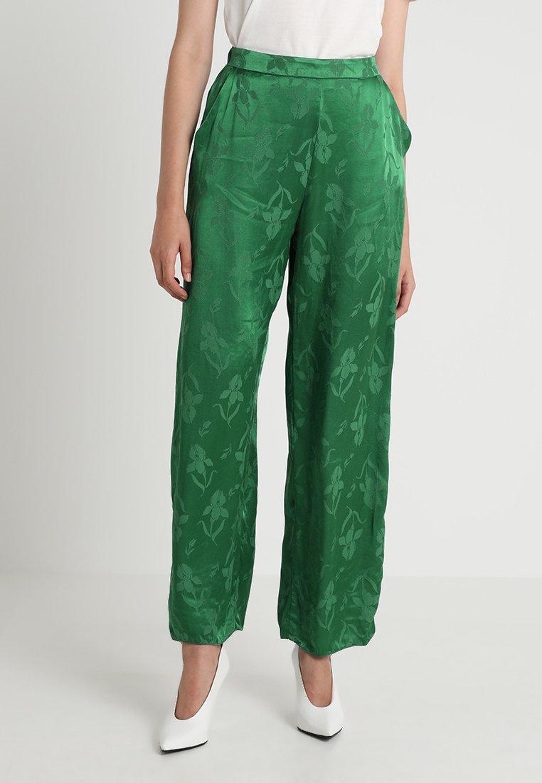 Dorothy Perkins PALAZZO - Stoffhose green
