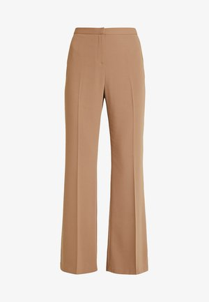 BOOTCUT - Trousers - light brown