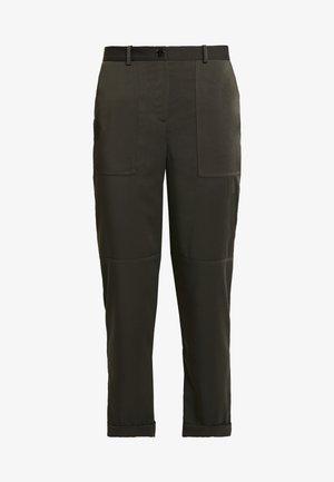 CARGO TROUSER - Spodnie materiałowe - dark green