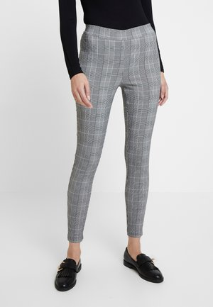 CHECK - Trousers - blue