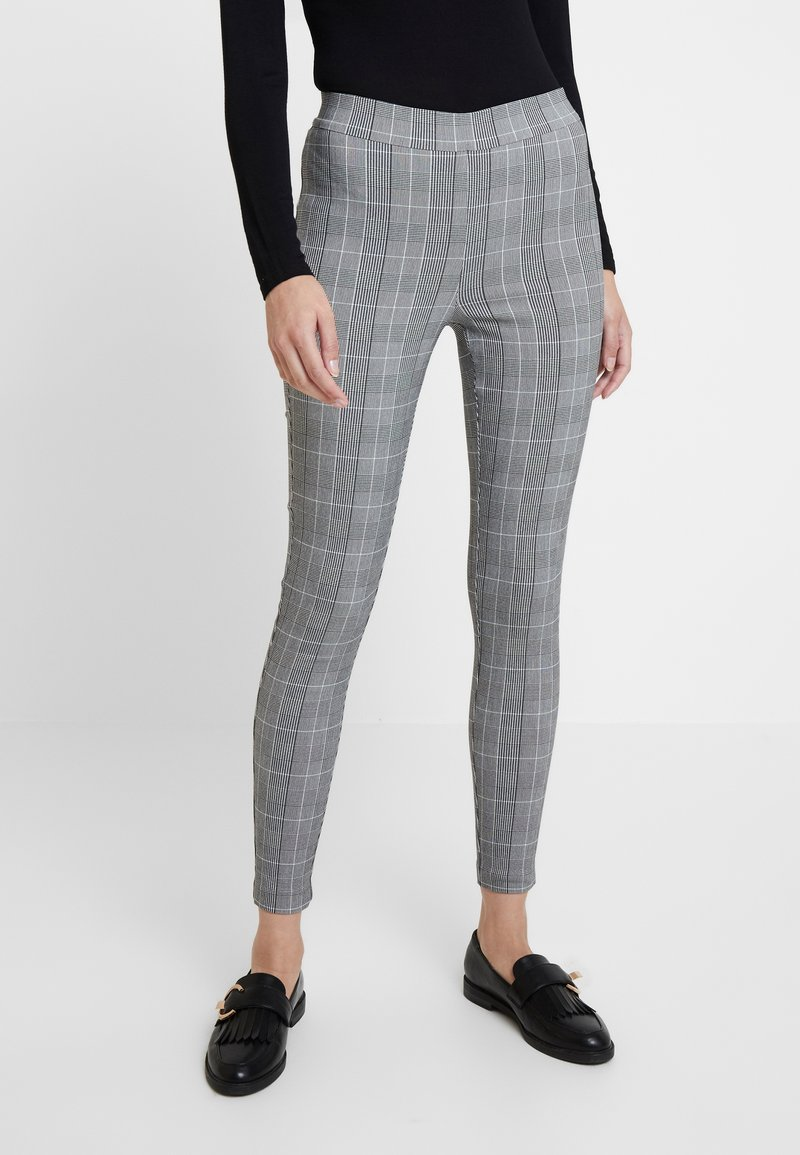 Dorothy Perkins - CHECK - Trousers - blue