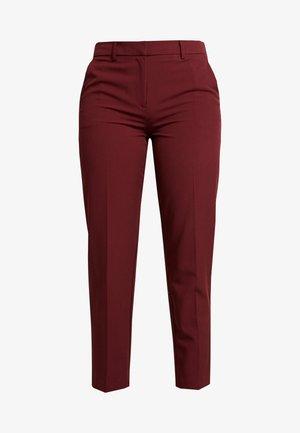 DAMSON GRAZER - Pantaloni - dark red