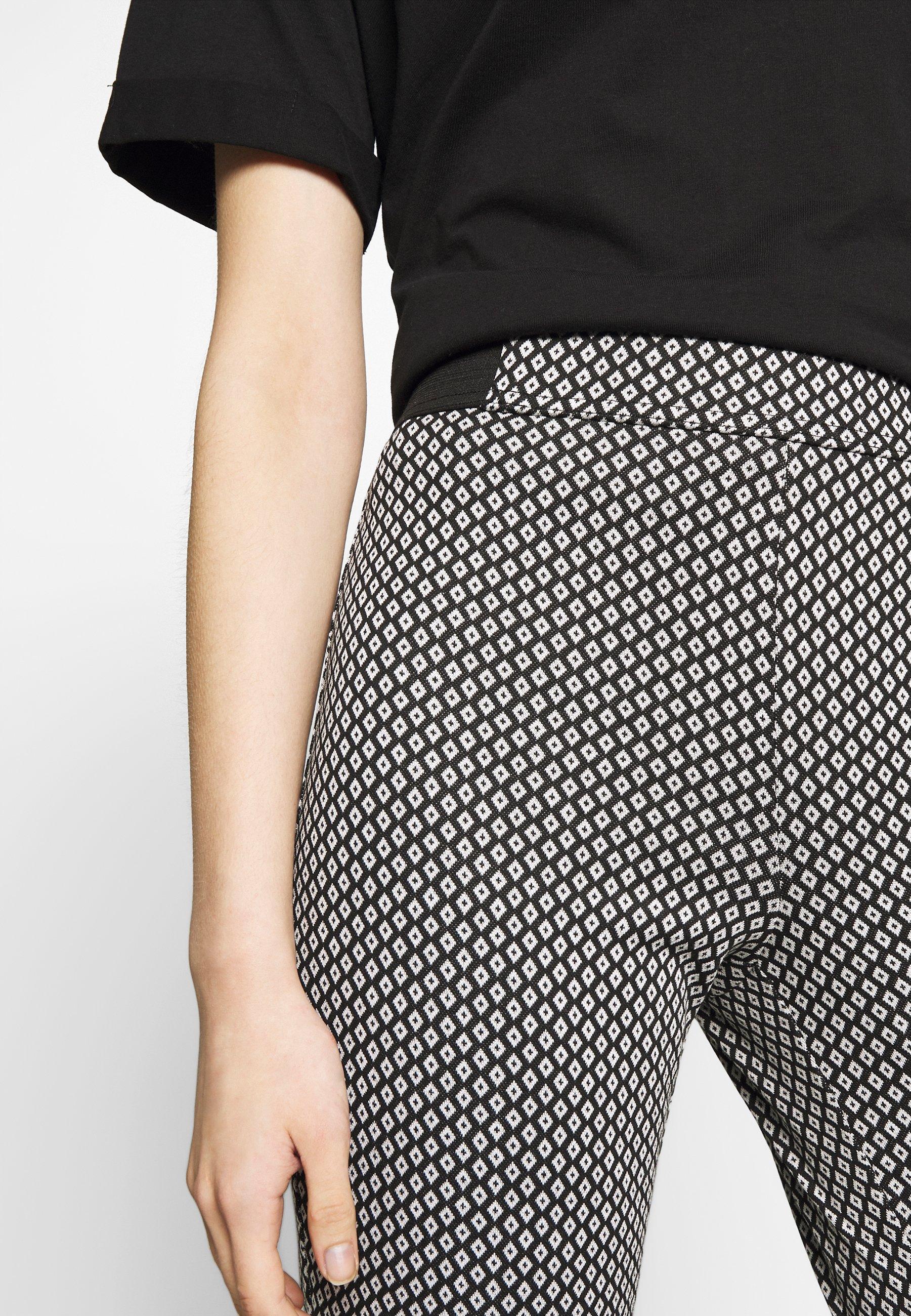 Dorothy Perkins Tapered Trouser - Pantalon Classique Black/white