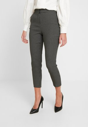 SPOT TROUSERS - Bukse - black