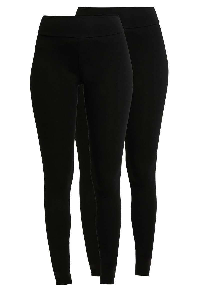 Dorothy Perkins - 2 PACK - Leggings - black