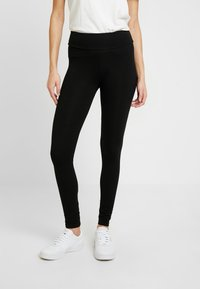 Dorothy Perkins - 2 PACK - Leggings - black - 2