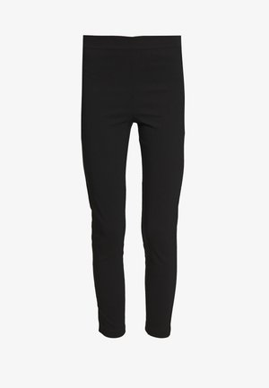 LENGTHPOCKET DETAIL BENGALINE TROUSER - Leggings - black