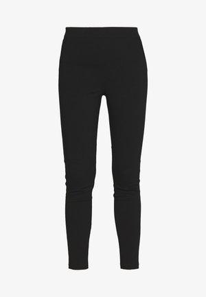REGULAR LENGTH POCKET DETAIL BENGALINE TROUSER - Pantaloni - black