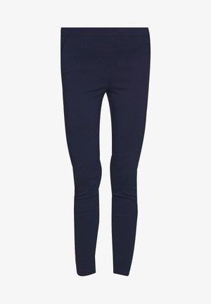 MOCK POCKET DETAIL BENGALINE TROUSER - Pantalones - navy blue