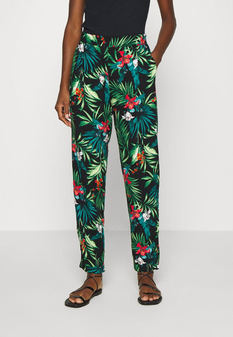 Dorothy Perkins - TROPICAL JOGGER - Trousers - multi