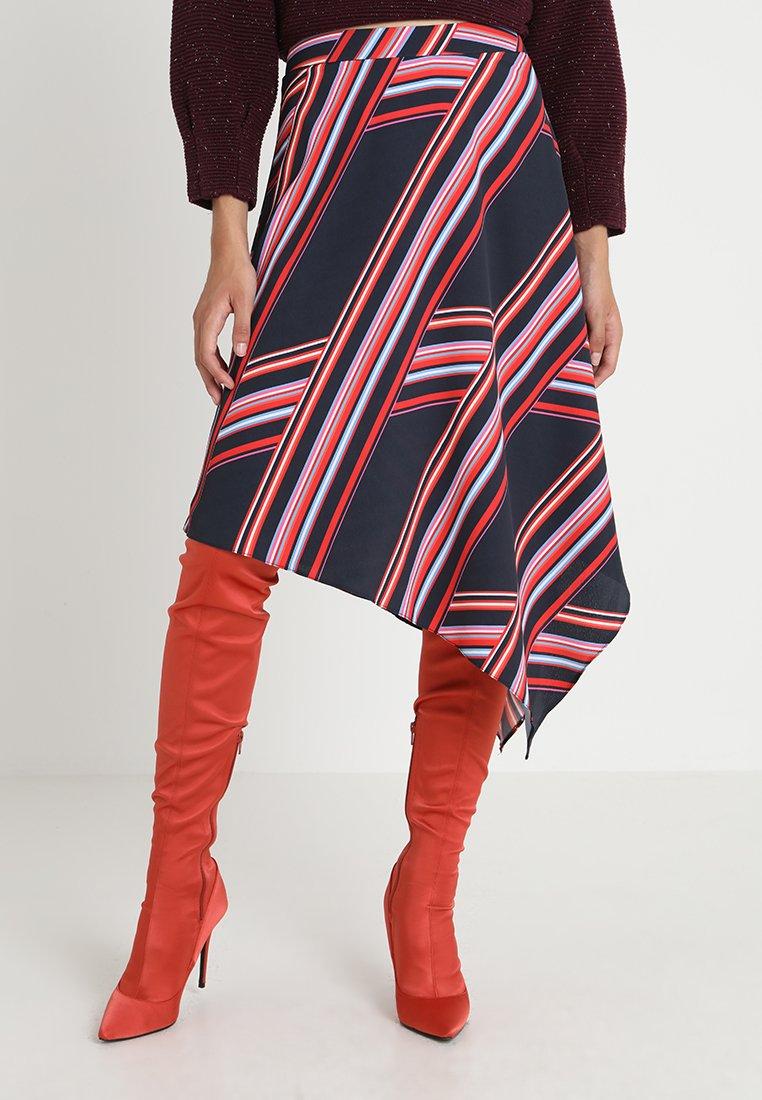 Dorothy Perkins - STRIPE SKIRT - Maxi skirt - multicoloured