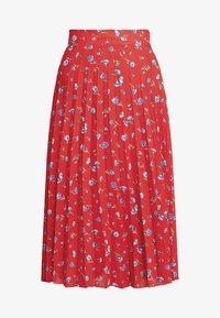 Dorothy Perkins - PLEATED SKIRT - A-line skirt - red - 3