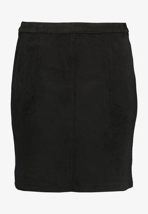 SKIRT - Minijupe - black