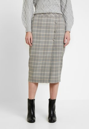 SIENNA CHECK SKIRT - Falda de tubo - multi bright
