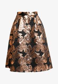 Dorothy Perkins - MIDI SKIRT - A-line skirt - black - 3