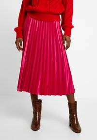 Dorothy Perkins - PLEAT SKIRT - A-lijn rok - pink - 0