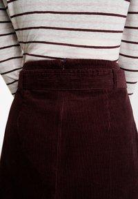 Dorothy Perkins - LOLA SKYE PAPERBAG SKIRT - A-line skirt - oxblood - 3