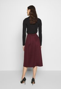Dorothy Perkins - A-line skirt - berry - 2