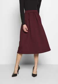 Dorothy Perkins - A-line skirt - berry - 0