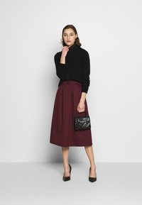 Dorothy Perkins - A-line skirt - berry - 1
