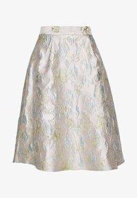 Dorothy Perkins - LUXE MIDI SKIRT - A-line skirt - grey - 3