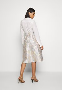 Dorothy Perkins - LUXE MIDI SKIRT - A-line skirt - grey - 2