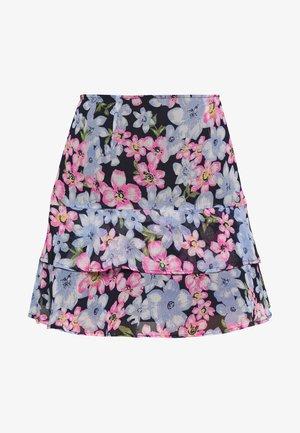 LOLA SKYE DOUBLE PEPLUM SKIRT - A-line skirt - multi coloured