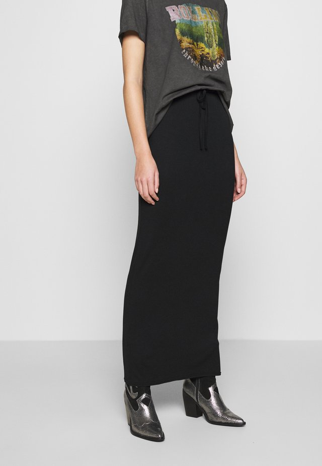 SKIRT - Maksihame - black