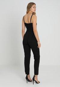 Dorothy Perkins - GLITTER  STRAPPY - Jumpsuit - black - 2