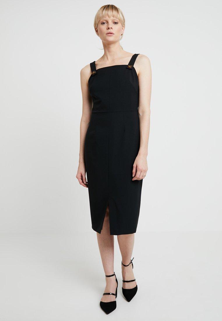 Dorothy Perkins - PINAFORE DRESS - Hverdagskjoler - black