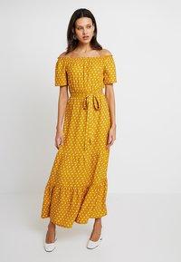 Dorothy Perkins - SPOT GYPSY MAXI - Maxi dress - ochre - 0