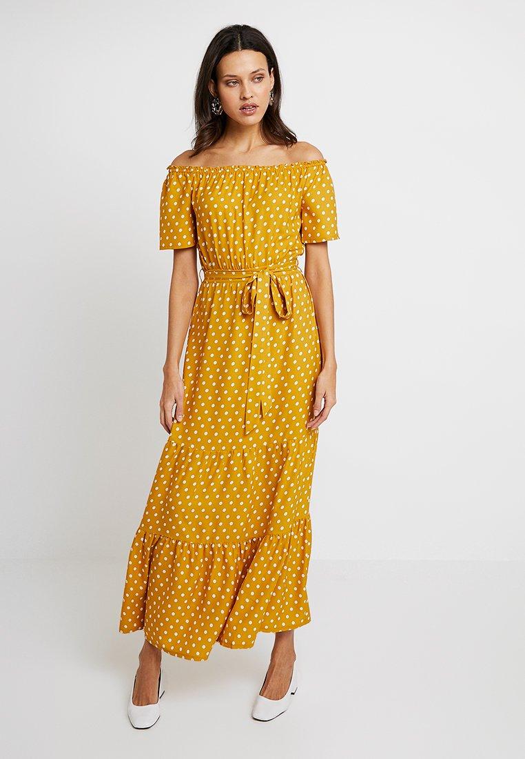 Dorothy Perkins - SPOT GYPSY MAXI - Długa sukienka - ochre