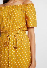 Dorothy Perkins - SPOT GYPSY MAXI - Maxi dress - ochre - 6