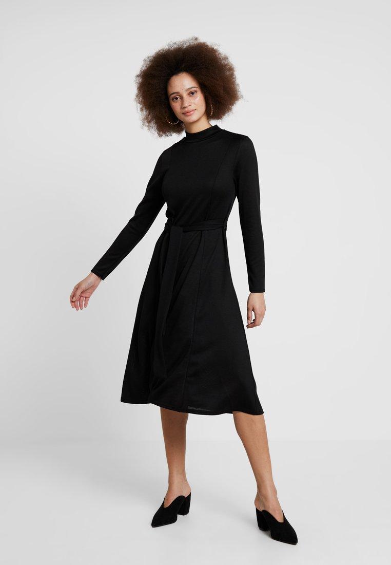Dorothy Perkins - CUT AND SEW DRESS - Jumper dress - black