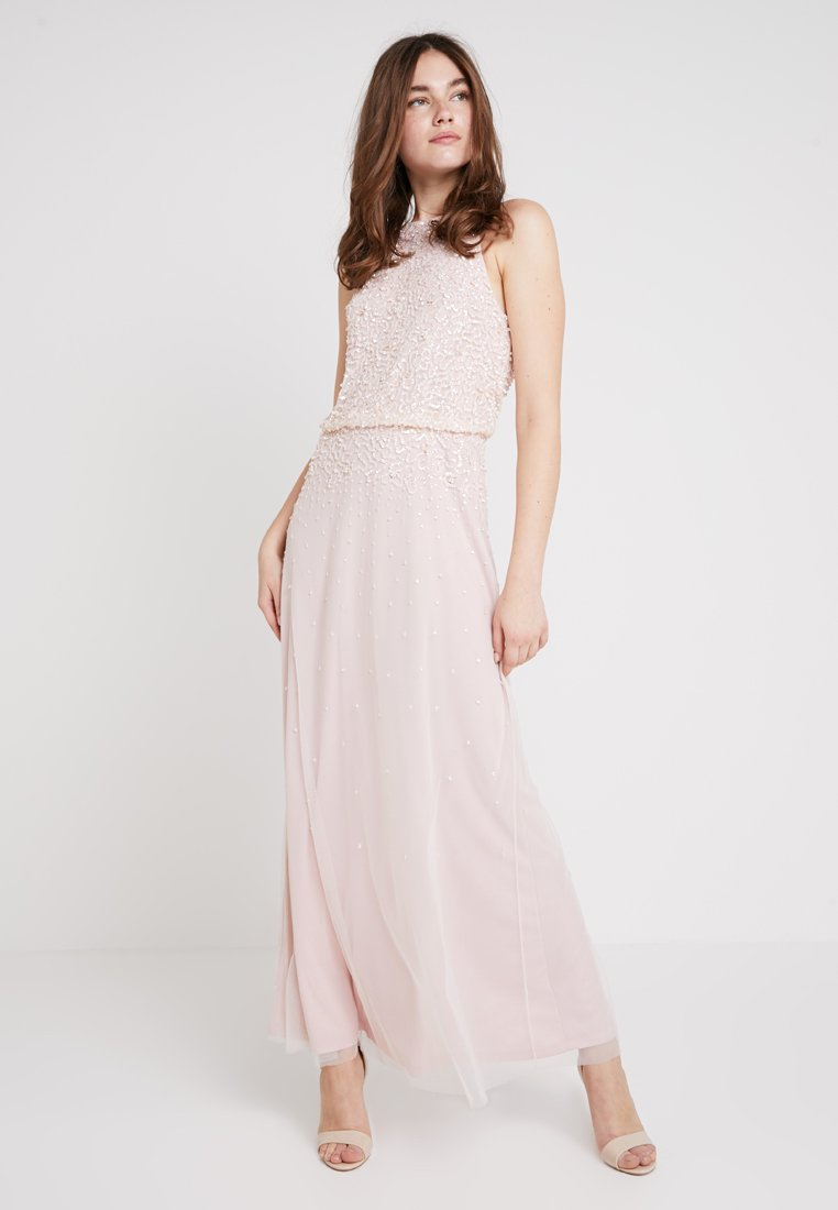 Dorothy Perkins - AVA SEQUIN MAXI DRESS - Occasion wear - blush