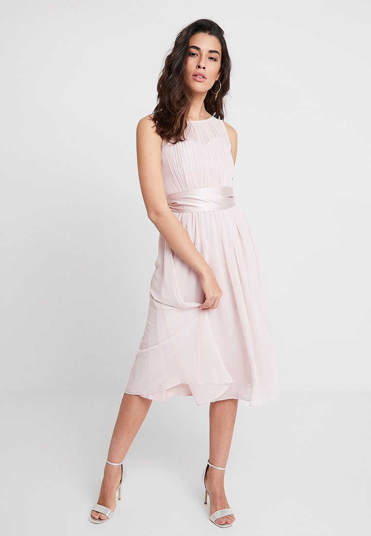 Dorothy Perkins - BETHANY MIDI DRESS - Cocktailklänning - blush