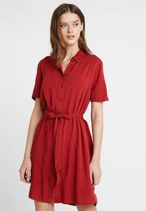 DRESS - Abito a camicia - red